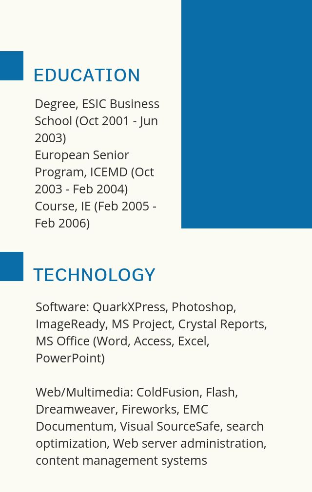 Resume Template for Engineer 4-1 | AmoLink Templates: Resume ...