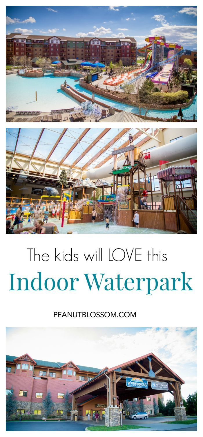 Want a great family getaway at any time in the year? You have to check out the Wilderness at the Smokies indoor waterpark resort in Tennessee! The kids could spend all day in the wave pool, sliding down enormous slides, or hopping through the splash zone. When they've had enough water time, there's indoor rock climbing, mini golf and bowling! So fun!