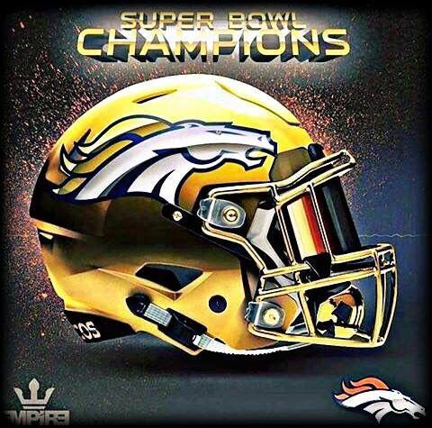 Golden Super Bowl 50 champs!