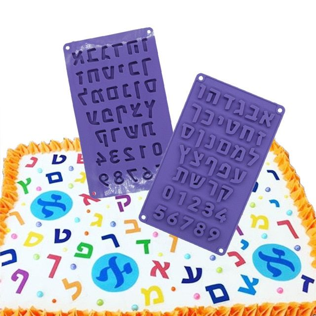 Home & Garden Chocolate Mold Alphabet Letters Silicone Mold Jelly Candy Pudding Ice Cubes Mould Diy Pastry Tools Bakeware Fondant Molds
