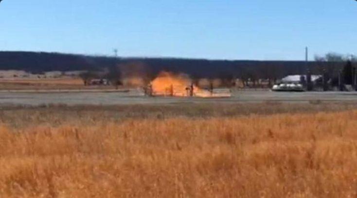 Μεγάλη έκρηξη σε πετρελαιοπηγή στην Οκλαχόμα: Μεγάλη έκρηξη σε περιοχή άντλησης πετρελαίου σημειώθηκε την Πέμπτη το βράδυ στην Οκλαχόμα,…