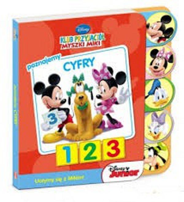 #Książeczka dla dzieci #Poznajemy cyfry #Klub Przyjacioł Myszki Miki
