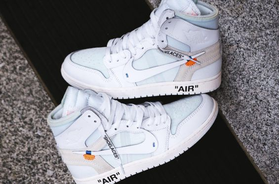 694ae39e278 The Europe -Exclusive OFF-WHITE x Air Jordan 1 White Drops In Three Days |  Dr Wongs Emporium of Tings | Jordan 1 white, Air jordans, Jordan 1