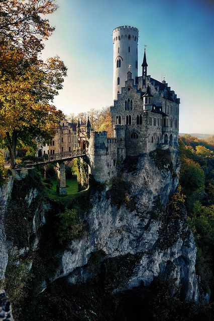 speechless!: Real Places, Lichtenstein Castles, Amazing Castles, Castles Palaces, Württemberg Baden, Fairytale Castles, Castles Germany, Castles Church, Fairies Tales