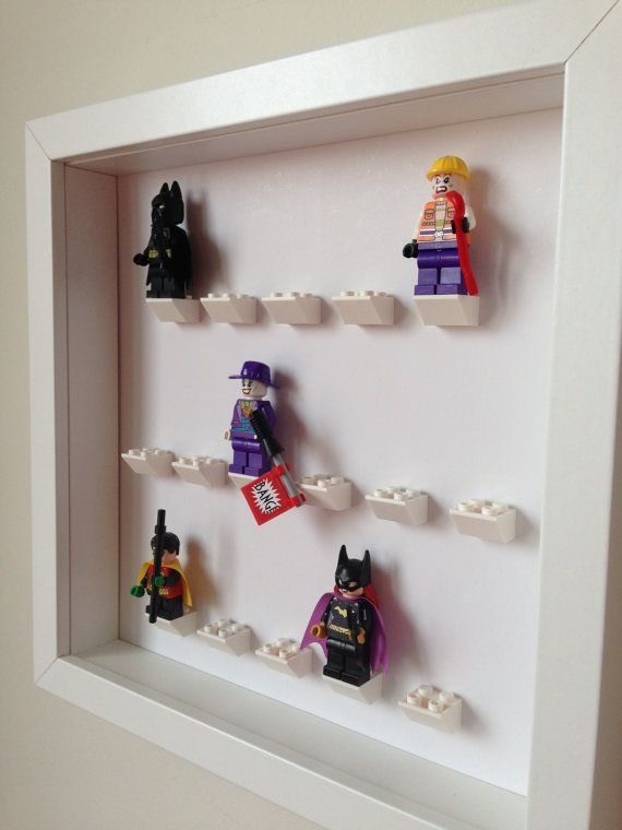 Lego Frame. Display Case for Lego by LegoMinifiguresFrame  #LegoMinifigures http://www.minifiguresdisplay.com/