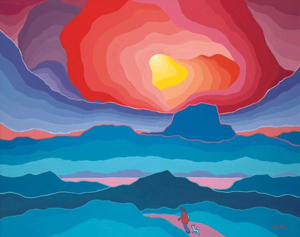 ted harrison art - Google Search