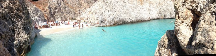Natural swimming pool - Satan's port, Crete, Chania