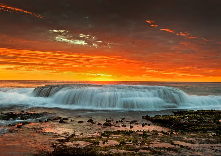 Waterfall by the sea by MONSTERMICKY !, via 500px: Beautiful Photos, Waterfalls, Bays, Monstermicky, Australian Nature, Sea, Mckenzie Bay, Mother Nature, Nature S Beauty