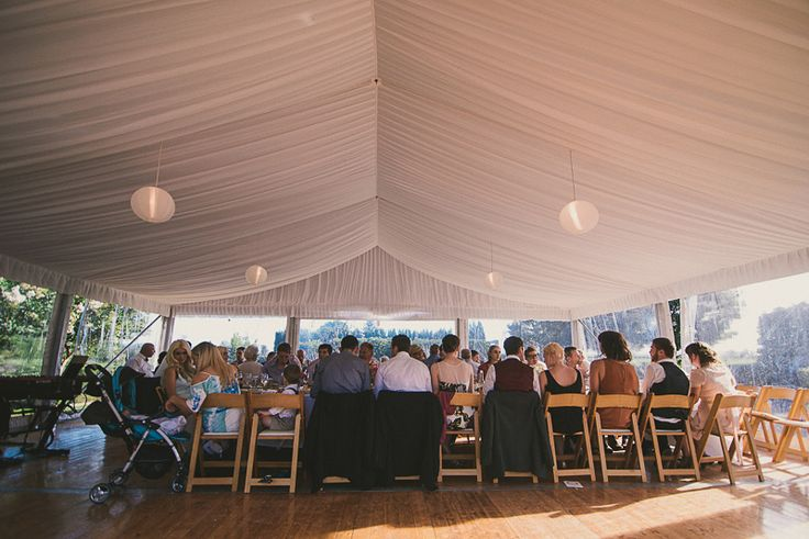 silk lining, rice paper lanterns, 10m marquee structure, integrated timber flooring, wooden padded folding chairs, clear walls, south coast weddings, south coast party hire