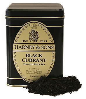 Harney & Sons - Black Currant ... reminiscent of Swedish svart vinbar tea ~ sooo delish !!!