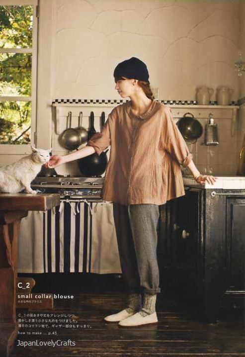 Simple Chic - Tomomi Okawa - Japanese Sewing Pattern Book for Women - Chic, Simple & Stylish Clothes - B814. $24.80, via Etsy.