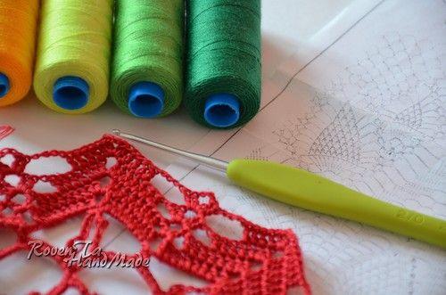 crocheted umbrella, lace umbrella, wedding umbrella, on hook, вязаный зонт, зонт крючком, в работе
