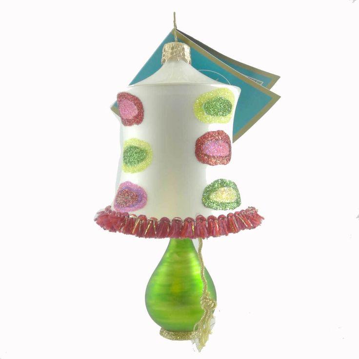 Cafe De La Luz Glass Ornament
