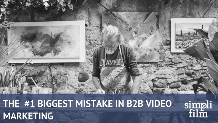THE #1 MISTAKE B2B CUSTOMERS MAKE WHEN CREATING AN ANIMATED VIDEO.