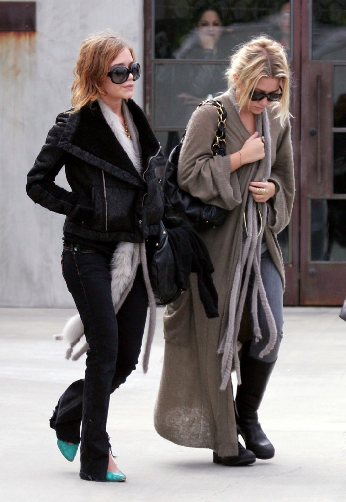Mary Kate Olsen And Ashley Olsen Street Style A La Mary