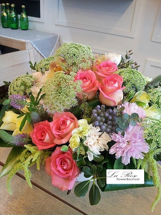 flower arrangement for birthday