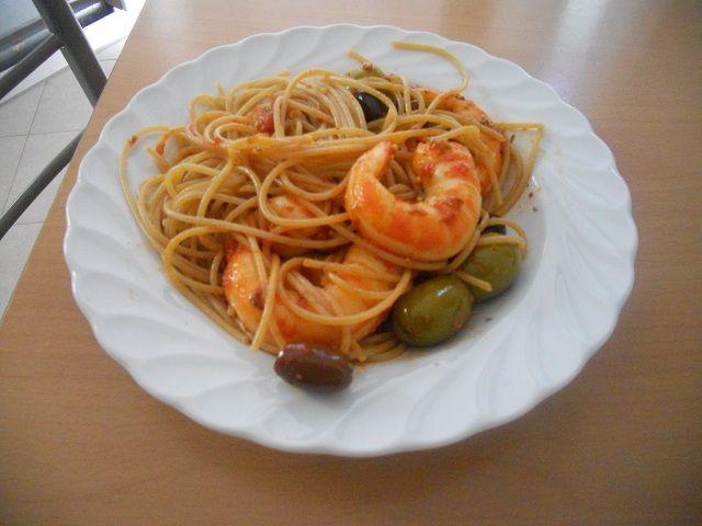 Spaghetti ai gamberoni veg – Ricette Vegan – Vegane – Cruelty Free