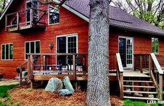 Visit Rustic Ridge Log Cabins, Durward's Glen Retreat, Devils Lake Lodge, Baraboo Hills Campground or Seth Peterson Cottage all located in Baraboo Hills.