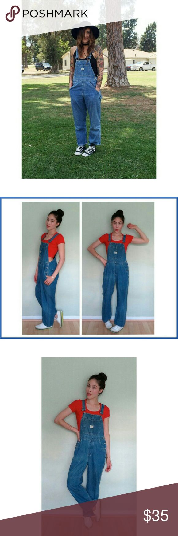 Vintage Old Navy Denim Blue Jean Overalls? Vintage Old Navy Denim Blue Jean Overalls?  Size Medium EUC! Old Navy Pants Jumpsuits & Rompers