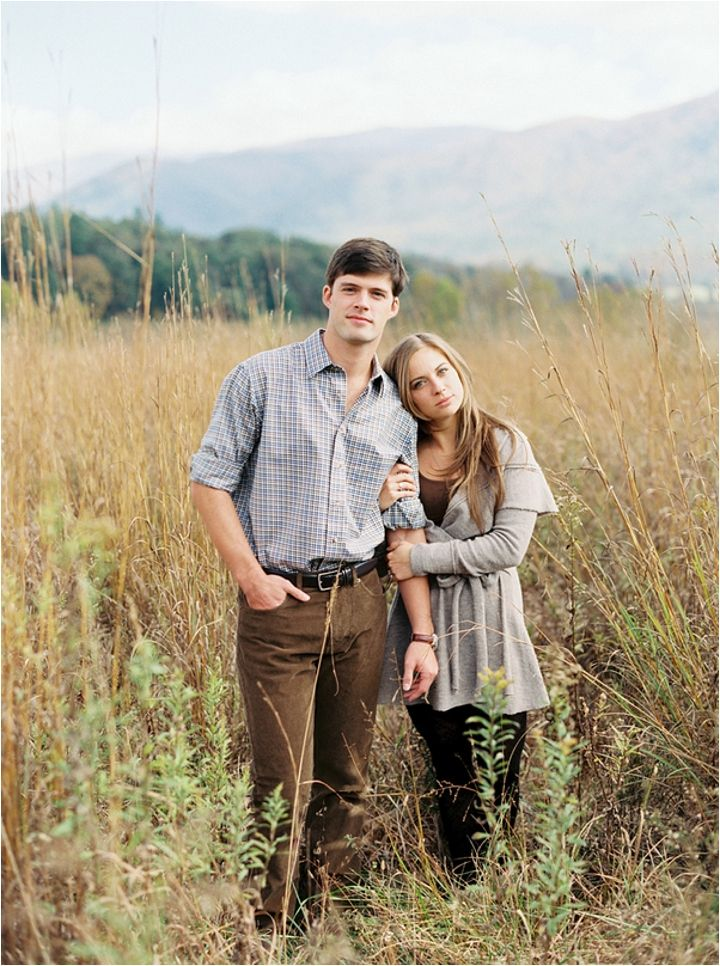 Fall Engagement Photos at Cades Cove | by Sarah Joelle Photography