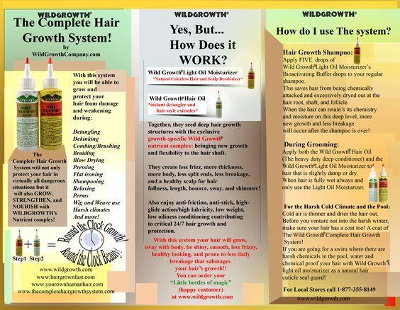 wild growth hair oil - Google Search