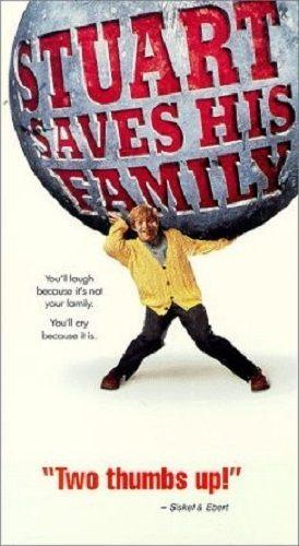 Stuart Saves His Family VHS 1995 Al Franken Paramount Pictures Laugh Cry #stuartsavesthefamily #alfraken #paramountpictures