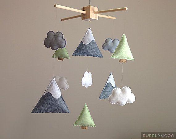 SU ORDINAZIONE »-› Montagne, nuvole, alberi & baby mobile »-› Ogni pezzo è fatto da feltro e riempito con ovatta poliestere »-› Colori possono essere personalizzati a proprio piacimento se si preferisce Tutti i miei cellulari sono fatti con un sacco di pazienza e cura. ♥. DIMENSIONI: Telaio: 12 x 12 pollici Pezzi di feltro: 0,5-5 pollici ♥. TERMINI DI CONSEGNA; (Una volta che il vostro ordine è stato effettuato). Annuncio del negozio si prega di controllare per lora di completament...