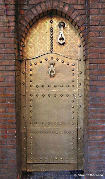Brass Moroccan Door