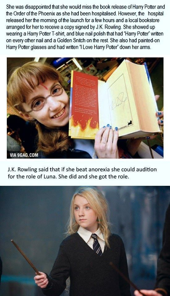 Evanna Lynch. She was perfect for Luna