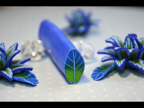 Kolpilka. Кейн /Трость Листик из полимерной глины - Все о полимерной глине