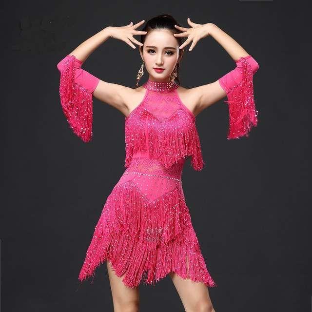 960eba582 Nuevo 2017 vestido de baile latino para mujeres/niñas/dama nueva ...