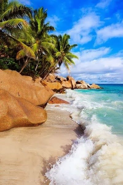 Beaches Around The World -La Digue, Seychelles