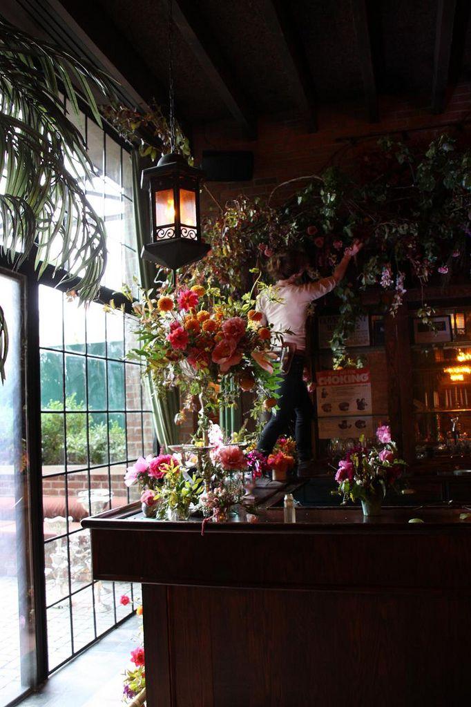 @Brigitta Dougherty - Erika says you're thinking of opening a Florist Shop?