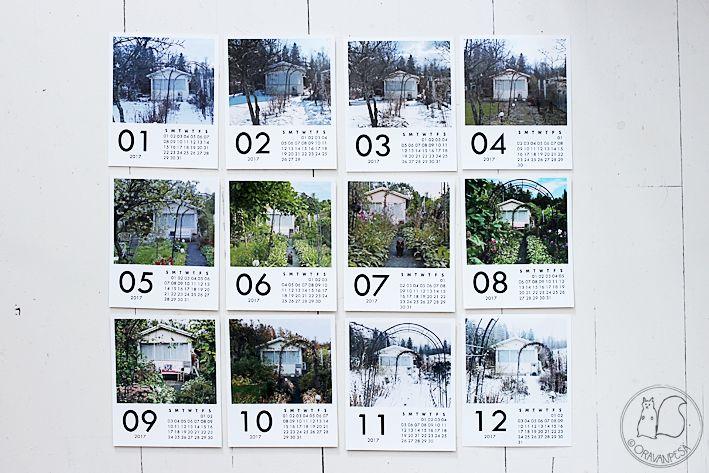 Oravanpesä | Printic-kalenteri