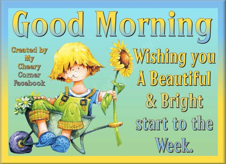 Good Morning Wishing Everyone A Very Cheery Start To The