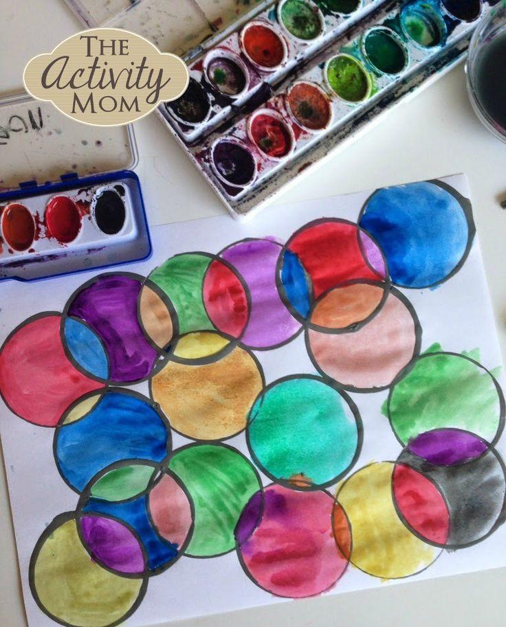 Color Art Ideas For Preschoolers : 192 best watercolor techniques & ideas images on pinterest
