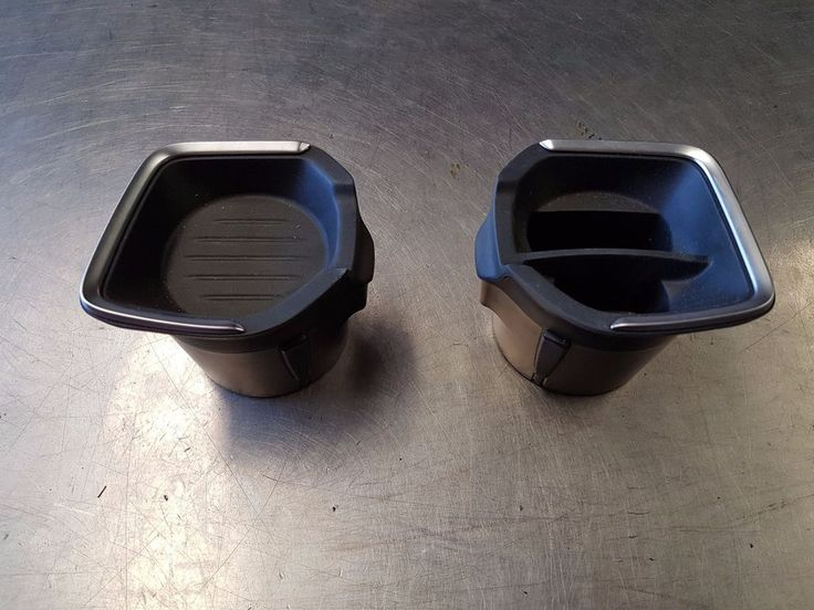 BMW 116I F20 2014 2015 1.6 TURBO CUP HOLDER INSERTS - PAIR