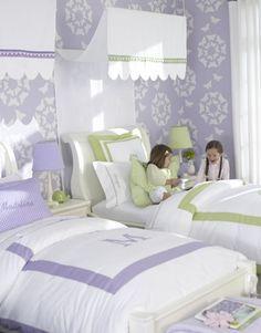 Girls Bedroom Purple And Green girls bedroom interactive purple kid bedroom decoration using