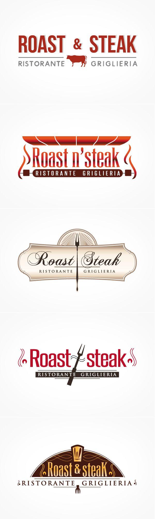 #restaurant #logo #design #ristorante #grafica Studio progettazione loghi per Ristorante Griglieria