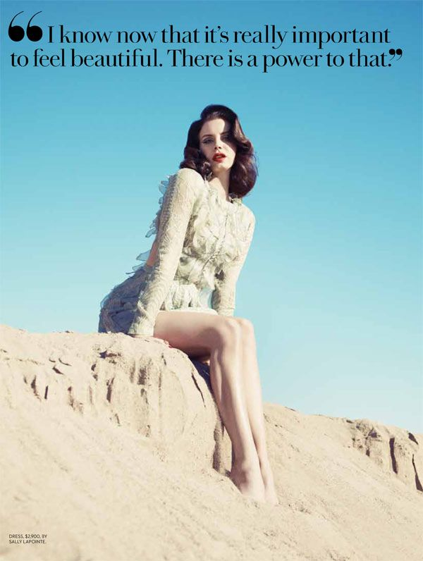 Lana Del Rey Turns Up the Glam for Fashion Magazine's Summer 2013 Cover Shoot | Fashion Gone Rogue: The Latest in Editorials and Campaigns