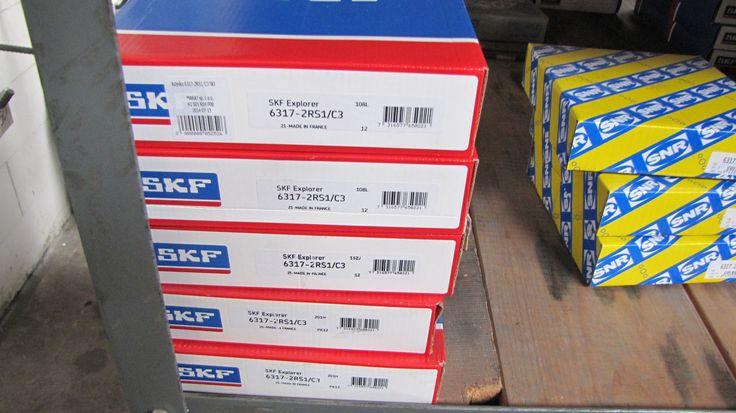 Deep groove ball bearing 6317 2RS1/C3 SKF. Price: 125.00 €