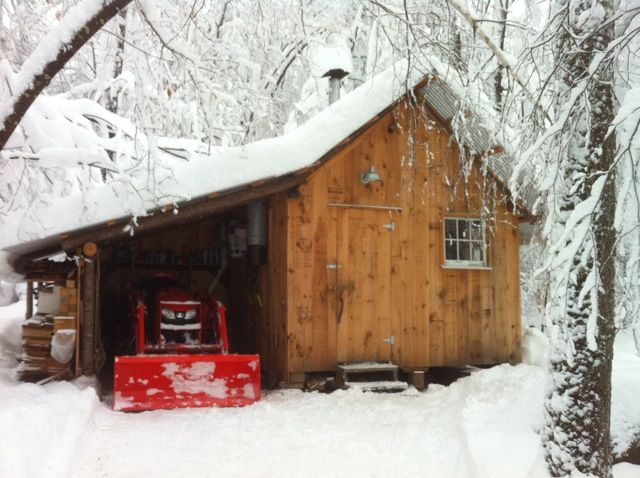 Tractor shed google search tractor sheds pinterest for Tractor garage plans