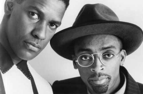Spike Lee & Denzel Washington
