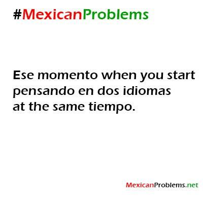I am not Mexican, but I do have an issue with this. Lol
