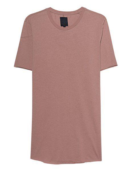 La última camiseta de algodón con cuello redondo Thom Krom desnuda con  cuello redondo para hombre  f94071e97c7ed