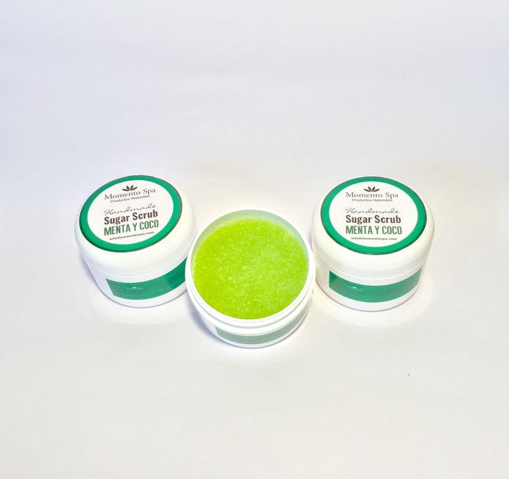 Exfoliante de Azúcar - Sugar Scrub Aroma Menta $U450