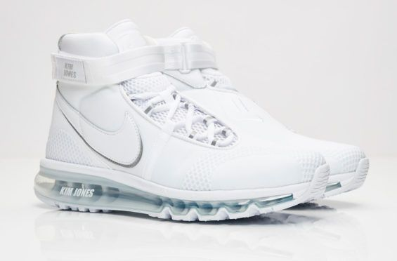 158ddd9dd1 The Kim Jones x Nike Air Max 360 High White Is Now Available Dior Homme  creative