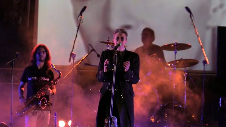 Lady Grinning Soul by Aladdin Insane David Bowie Tribute live @ Antifestival X - YouTube