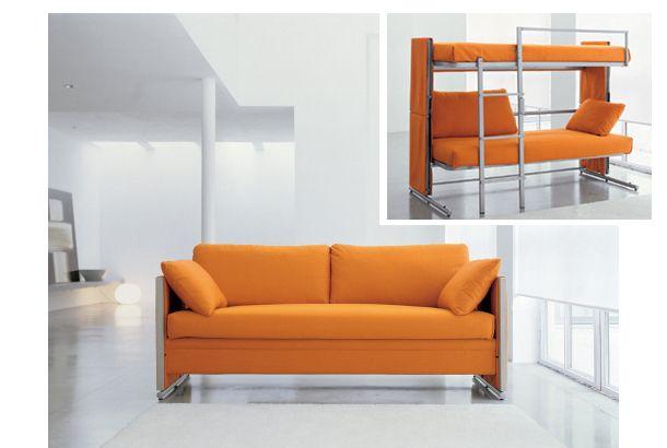 予想不可能! このソファが数秒で2段ベッドにトランスフォームします | ROOMIE(ルーミー)