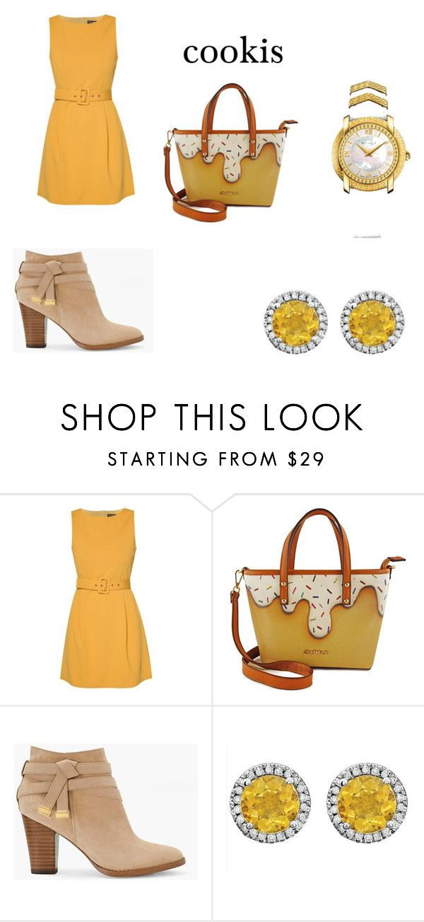 cookis by zuzia-apanasewicz on Polyvore featuring uroda, Versace, ZALORA and White House Black Market